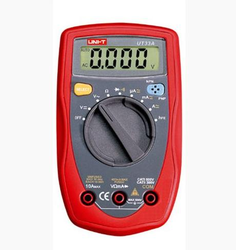 UNI-T-Palm-Size-Digital-Multimeter-UT33A-UT33-A