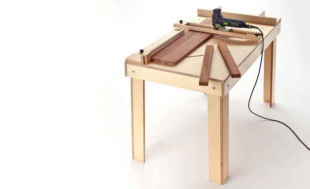Стол для лобзика и ручного фрезера своими руками фото 668