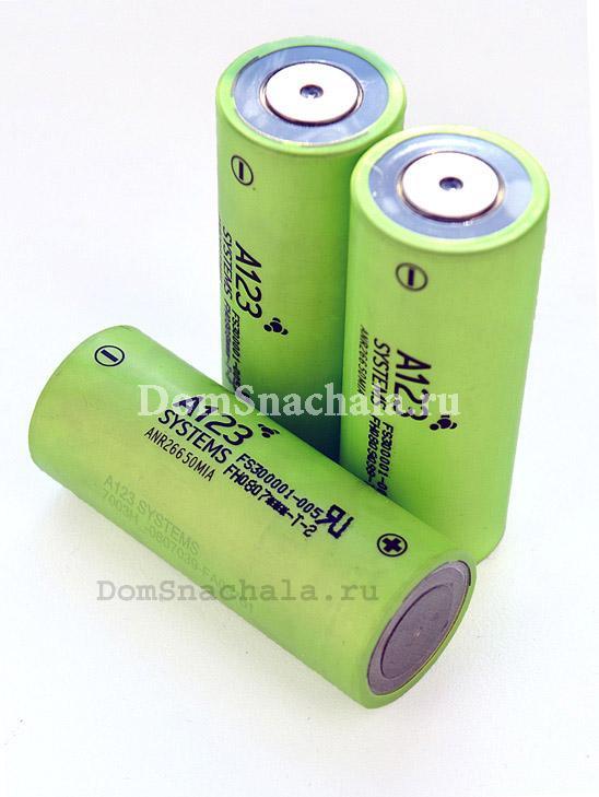 Аккумуляторы 26650 LiFePO4 A123