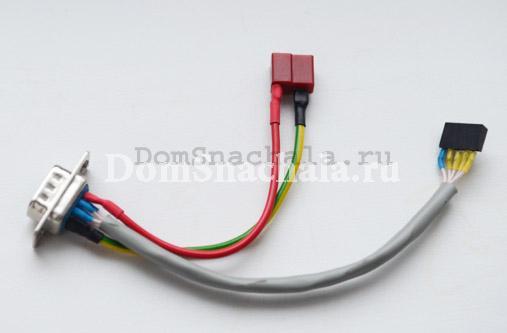 Кабель для подключения зарядного устройства к шуруповерту